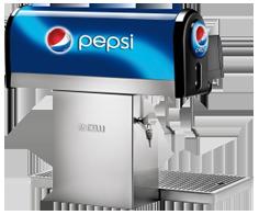 Pepsi dispenser
